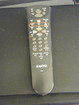 Sanyo FXGF TV/VCR Remote Control - Battery Cover Missing - $6.92