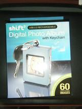 Shift3 Digital Picture Frame Keychain Photo Album Gray - NEW!!!! - $11.87