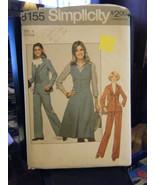 Simplicity 8155 Junior's Pants, Skirt, Blazer & Vest Pattern - Size 11 B... - $6.24