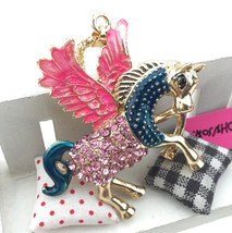 Crystal Flying Pegasus Horse Necklace Pendant ~  Free Shipping/buy 2 get 1 free - $14.99