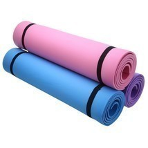 "6mm Thick Non-Slip Yoga Mat Exercise Fitness Lose Weight 68""x24""x0.24"" B... - $15.74"