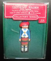 Hallmark Keepsake Christmas Ornament 1985 Scottish Highlander Clothespin Soldier - $7.99
