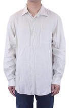 L NWT Joseph Abboud Spring Signature Stone Linen Button Up Casual Shirt ... - $137.46 CAD