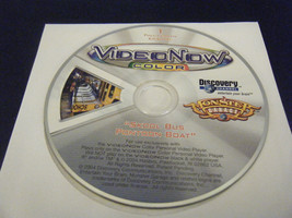"VideoNow Color Monster Garage ""Skool Bus Pontoon Boat"" (PVD, 2004) - Disc Only! - $8.90"