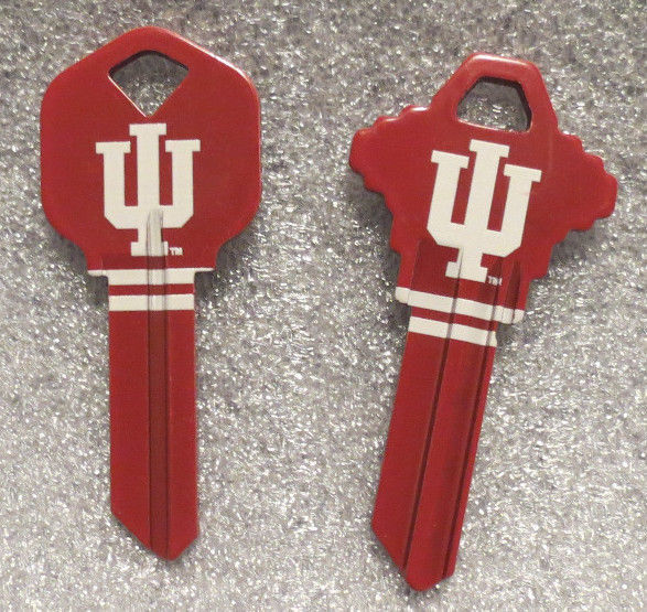 Primary image for Indiana Hoosiers House Key, Schlage or Kwikset