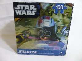 Star Wars Lenticular Puzzle 100 piece 12 x 9 - $5.93