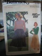 Vintage Butterick 5633 Misses Skirt Pattern - Size Petite - $5.88