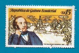 Republica De Guinea Ecuatorial #1771 Awl 15 Multi Coloured Sir Rowland Hill 1980 - $1.99