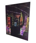 Toxic Room Hand Painted Acrylic Backdrop 7x5 ft Haunted House Halloween ... - $75.00