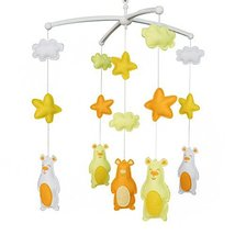 [Lovely Animals]Unique Baby Mobile, Handmade Bed Bell, Colourful Decoration - $49.24