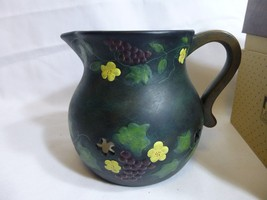 Lang Melting Pot Creamer Very Fine Grapevine 20... - $19.78