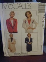 Vintage McCall's 7908 Misses Lined Jacket in 2 Lengths & Skirt Pattern -... - $4.46