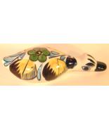 Tonala Mexican Hand Painted Glazed Pottery Duck... - $8.00