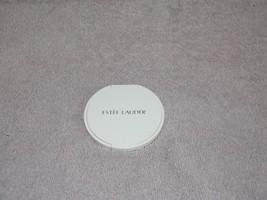 Estee Lauder Round WHITE Compact Pocket Purse M... - $9.89