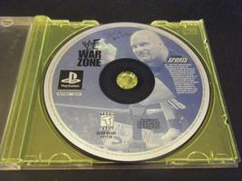 WWF War Zone (Sony PlayStation 1, 1998) - Disc ... - $4.94