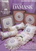 Designed for Damask 10 Designs LA303 Cross Stitch Pattern Leaflet - $2.49