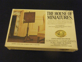 X-Acto House of Miniatures #40021 Queen Anne Fire Screen - Unassembled -... - $8.90