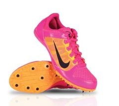 Nike Zoom Rival MD 7 Women's Track Mid Distance Pink 615982 660 Women's ... - $34.95