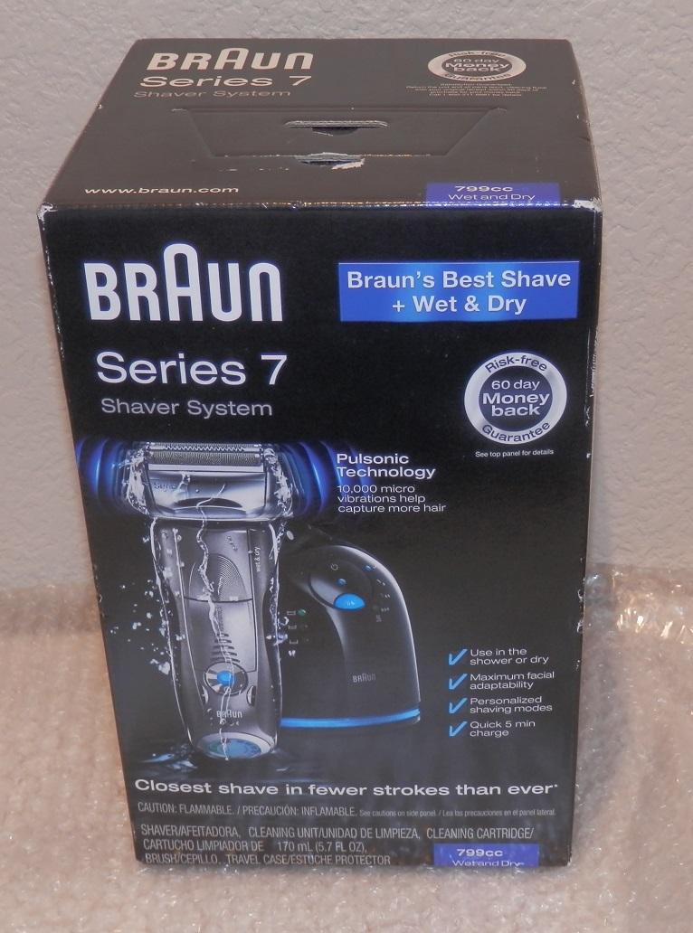 brand new braun series 7 shaver system wet dry 799cc 6. Black Bedroom Furniture Sets. Home Design Ideas