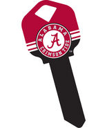 NCAA Alabama Crimson Tide Keys and Keychain.  Schlage and Qwikset Keys - $5.89