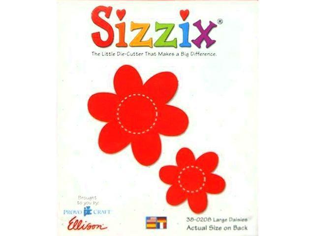 Sizzix Large Daises Die #38-0208
