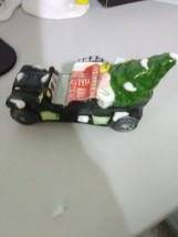 Early Dept 56 Car with Christmas Tree - $11.91