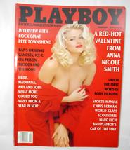 "Playboy Magazine February 1994 ""Cover: Anna Nicole Smith"" CAT - $5.94"