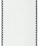 "16ct Aida Stitchband White Black Trim 4""w x 12"" cross stitch fabric Zwei... - $6.00"