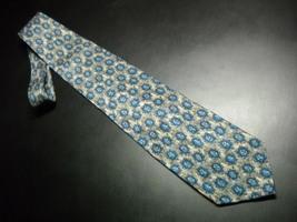 Joseph Abboud Neck Tie Italian Silk Design No 67248 Mottled Browns and Blues - $12.99