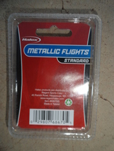 Halex Dart Metallic Standard Flights Set of 3 NIP - $3.50