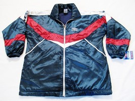 UMBRO KIDS Windbreaker Sports Jacket Blue 100% Polyester Size 18 Zip Up NWT - $29.69