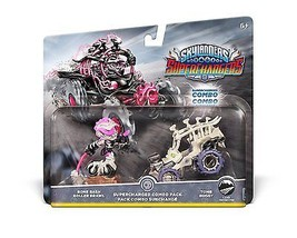 Skylanders SuperChargers Dual Pack#4 Bone Bash Roller Brawl & Tomb Buggy... - $22.30