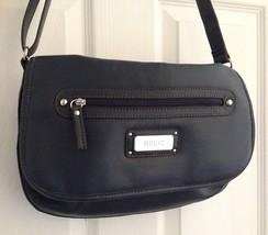 Relic Shoulder Bag - Navy Blue Adjustable Strap with Outside Pocket - $4.00