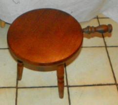 Quartersawn Oak 3 Leg Milking Stool / Footstool   - $129.00