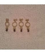 Set of 4 Wire Ties with screws - $3.36