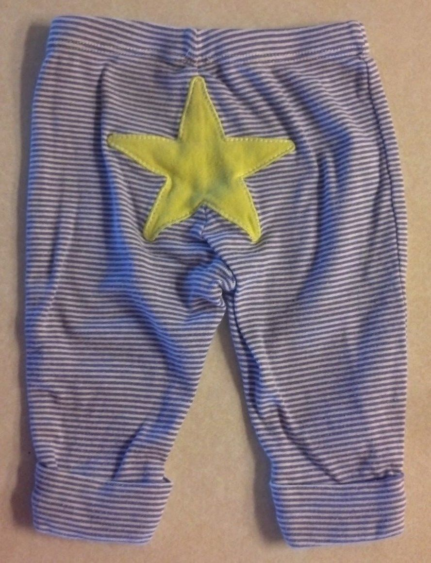 Girl's Size 3 M Months Two Piece Carter's Outfit I Love Daddy Top & Star Pants