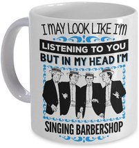 I might look like Im listening but in my head Im thinking about Archery Mug 074