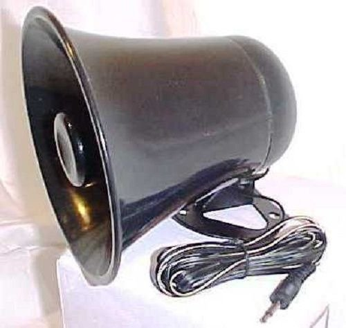 Used, PA Horn SPEAKER w/ Plug & Wire - 5 inch for CB / Ham Radio for sale  USA