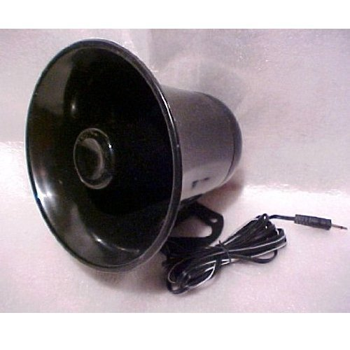 Pro Trucker PA Horn SPEAKER w/ Plug & Wire - 5 inch for CB / Ham Radio, used for sale  USA