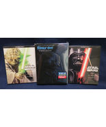 Star Wars Saga DVD/BD 2013 & Family Guy Laugh It Up Fuzzball Trilogy - $116.53