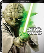 Star Wars Trilogy Episodes I-III (Blu-ray + DVD) (2013) - $52.35