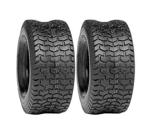(2) New 16x6.50-8 TURF TIRES 4 Ply Tubeless Toro Wheel Horse Lawn Mower Tractor