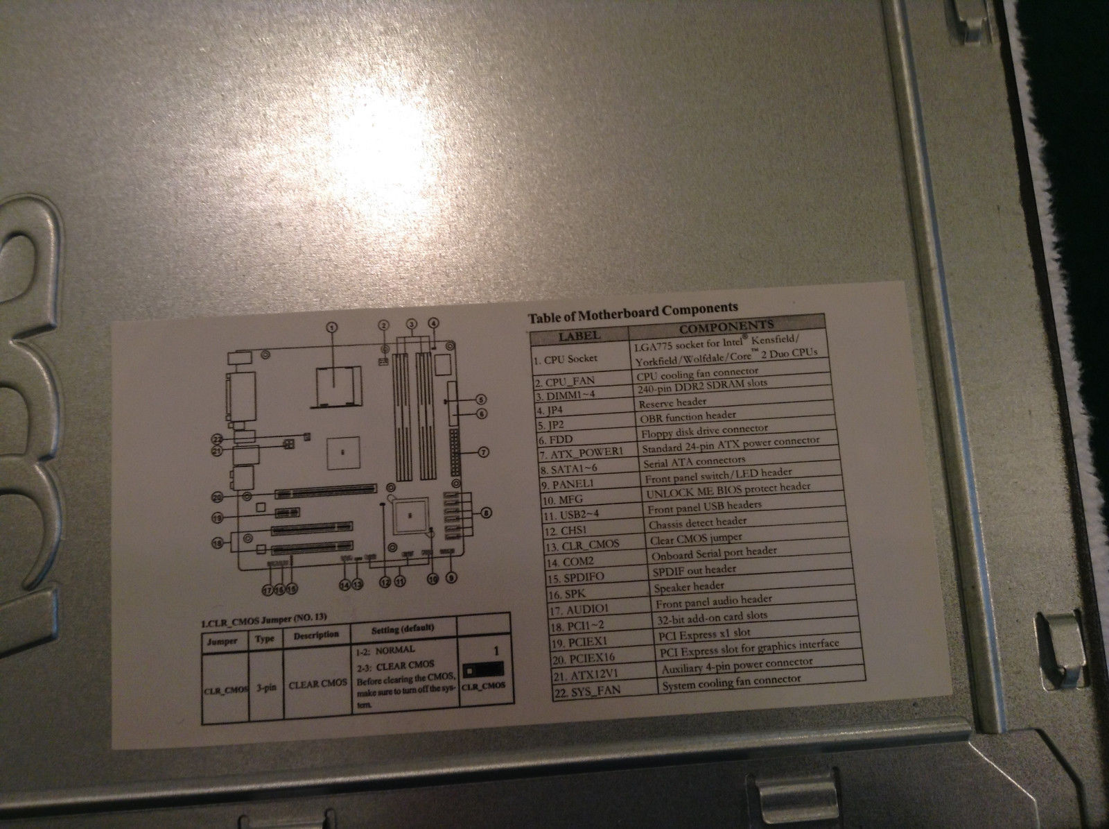 Acer Veriton Service Side Panel 2JB22 006 and 50 similar items
