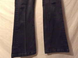 Used Great Condition Ann Taylor Loft Modern Flare Black Jeans Cotton Blend image 2