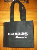 Kenneth Cole New York Eco Friendly Tote Bag ~ Be An Accessory NEW BLACK  - $25.00