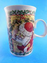 Dunoon Stoneware  Mug Cup  Christmas Wishes Santa Scotland - $7.61