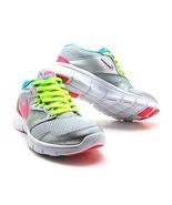Nike Flex Experience Platinum/Pink cO12 653698-002 Sz 7Y - $34.95