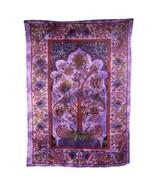 PAGAN/SPIRITUAL ICONIC TREE OF LIFE -PURPLE Indian wall hanging. - $37.96