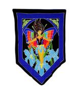 PAGAN/SPIRITUAL Butterfly Goddess BATIK Drop Banner/wall hanging.70x84cm - $43.80
