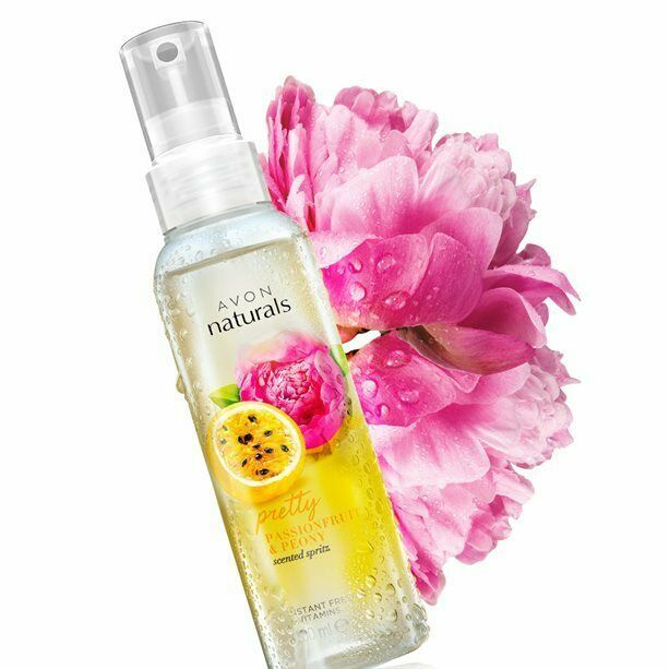 Primary image for Avon Naturals Passionfruit & Peony Body Mist Body Spray 100 ml New